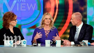 Download Stormy Daniels on 'The View', annotated Video
