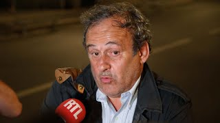 Download Ex-UEFA boss Platini released after being questioned in 2022 World Cup probe Video