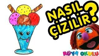 Download Nasıl Çizilir? - Dondurma - Çocuklar İçin Resim Çizme - RÜYA OKULU Video