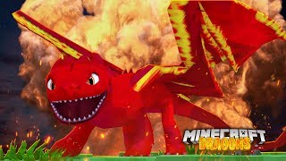 Download ALL NEW FIRE NIGHT FURY *Rare Element Dragon*   Minecraft DRAGONS w/ Little Kelly Video