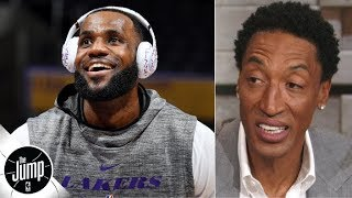 Download Scottie Pippen reacts to LeBron calling himself GOAT: 'You can't say you're the greatest' | The Jump Video