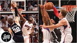 Download LeBron James, Blake Griffin and the best blocked dunks in NBA history | The Jump Video