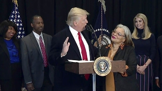 Download President Trump speech at the National Museum of African American History and Culture Video