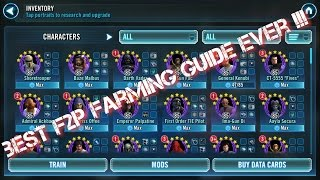 Download 2017 BEST F2P Farming Guide Ever !!! Star Wars Galaxy of Heroes Video