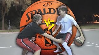 Download GREATEST 1 V 1 BASKETBALL VS MY BROTHER! FOR SHOES! Video