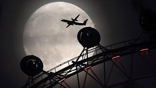 Download Supermoon shines over Europe Video