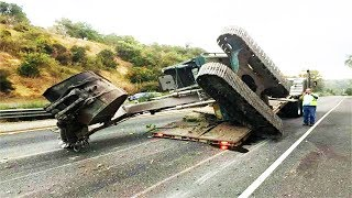 Download TOP IDIOTS Operator Heavy Equipment Disaster Trucks Fail - Excavator Fail Skill Video
