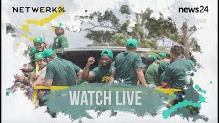 Download WATCH LIVE   Follow the Springboks' trophy tour through the streets of Cape Town Video