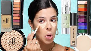 Download I TRIED A FULL FACE OF NEW ELF MAKEUP | ELF just went off. Video