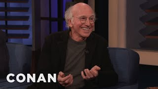 Download Larry David: I'm Becoming Too Much Like My ″Curbed″ Character - CONAN on TBS Video