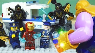 Download Lego IRON MAN - THANOS Team Arrive in Earth Video