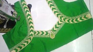 Download Easy blouse designing at home || Womens fashion blouses Video