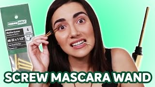 Download Stainless Steel Mascara Wand vs Screw Video