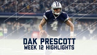 Download Dak Prescott's 2 TD Day! | Redskins vs. Cowboys | NFL Week 12 Player Highlights Video