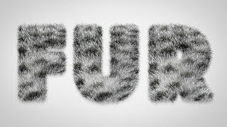 Download How To Create a Furry Text Effect in Photoshop Video