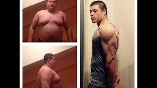 Download One Year Body Transformation from fat to fit Video