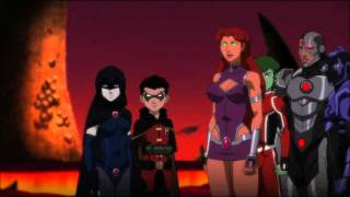 Download Justice League vs Teen Titans Robin & Raven Its Not Your Home Video