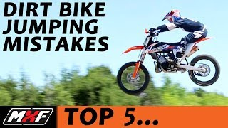 Download Top 5 Jumping Mistakes on a Dirt Bike - Most Common Problems & Solutions!! Video
