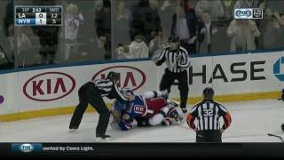 Download Fans shield faces from Klein and McNabb fight Video