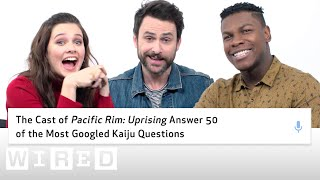 Download Pacific Rim Uprising Cast Answer 50 of the Most Googled Kaiju Questions | WIRED Video