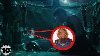Download Top 10 Easter Eggs You Missed In Avengers: EndGame Trailer Video