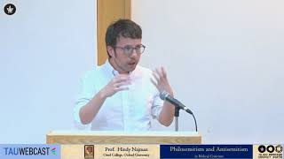 Download Philosemitism and Antisemitism in Biblical Criticism: Dr. Ofri Ilany Video