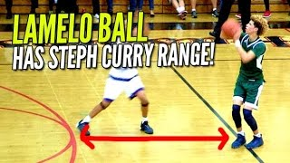 Download LaMelo Ball Has Steph Curry Range & Handles! Averages 30 PPG at The Battlezone! Video