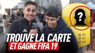 Download TROUVE LA CARTE FUT DE CE JOUEUR ET GAGNE FIFA 19 ! Video
