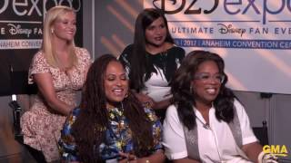 """Download Oprah Says Her Character is The """"Wisest One"""" In 'Wrinkle in Time' Video"""