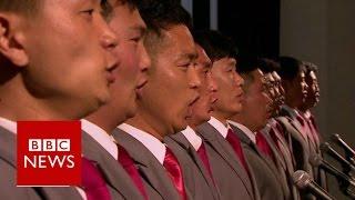 Download A rare look inside North Korea's Kim Il Sung University - BBC News Video