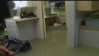 Download Water main break floods several basements in Youngstown Video