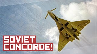 Download Why You Wouldn't Want to Fly On The Soviet Concorde - The TU-144 Story Video