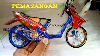 Download Pemasangan miniatur drag mio sporty    การติดตั้งขนาดเล็กลาก mio Video