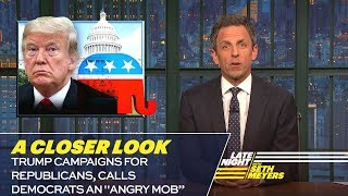 Download Trump Campaigns for Republicans, Calls Democrats an ″Angry Mob″: A Closer Look Video