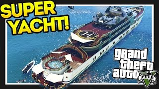 Download GTA 5 $28,000,000 Spending Spree! GTA 5 Super Yacht!! Executives and Other Criminals Part 1 Video