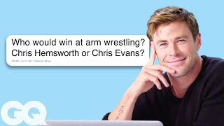 Download Chris Hemsworth Goes Undercover on Twitter, YouTube and Quora | GQ Video