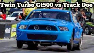 Download Twin Turbo Gt500 vs Track Doe at Topeka No Prep Kings 2 Video