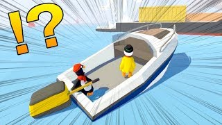 Download 【感動】体がふにゃふにゃでも超絶大きい船を協力して動かせる!Human: Fall Flat #4 Video