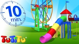 Download TuTiTu Compilation | Playground Toys for Children | Carousel, Ferris Wheel and More! Video