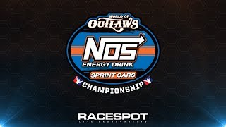 Download World of Outlaws NOS Energy Drink Sprint Cars Championship | Round 9 at Dirt Track Charlotte Video