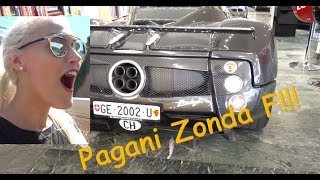 Download I drive a Pagani for the first time!!! Video