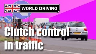 Download How to use clutch control in traffic - learning to drive a manual/stick shift Video