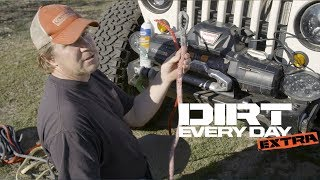 Download How to Install a Bubba Rope Synthetic Winch Rope on a Warn Winch - Dirt Every Day Extra Video