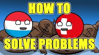 Download Every country deals with their own problems - Countryballs Video