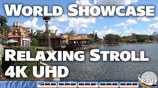 Download Epcot World Showcase - Relaxing Stroll & Tour Part 2 - 2018 Food & Wine Festival Video