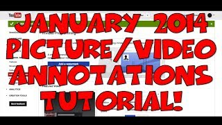 Download January 2014 Picture & Video Annotations (InVideo Programming) Tutorial - NEW! Video