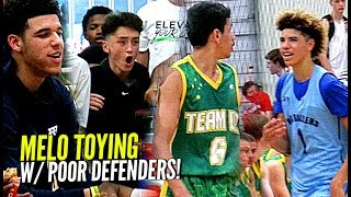 Download LaMelo Ball TOYING w/ Defenders w/ Lonzo Watching! Big Ballers SPANK Poor Australian Team 😕 Video