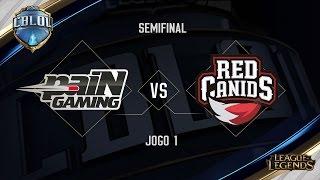 Download paiN x Red Canids (Jogo 1 - Semifinais) - Primeira Etapa CBLoL 2017 Video