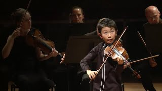 Download Ten-year-old Australian violin prodigy named youngest ever winner at Menuhin– video Video