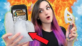 Download Breaking My Phone Out of ICE While Eating HOT SAUCE?! | Legend of Solgard Fire & Ice Challenge Video